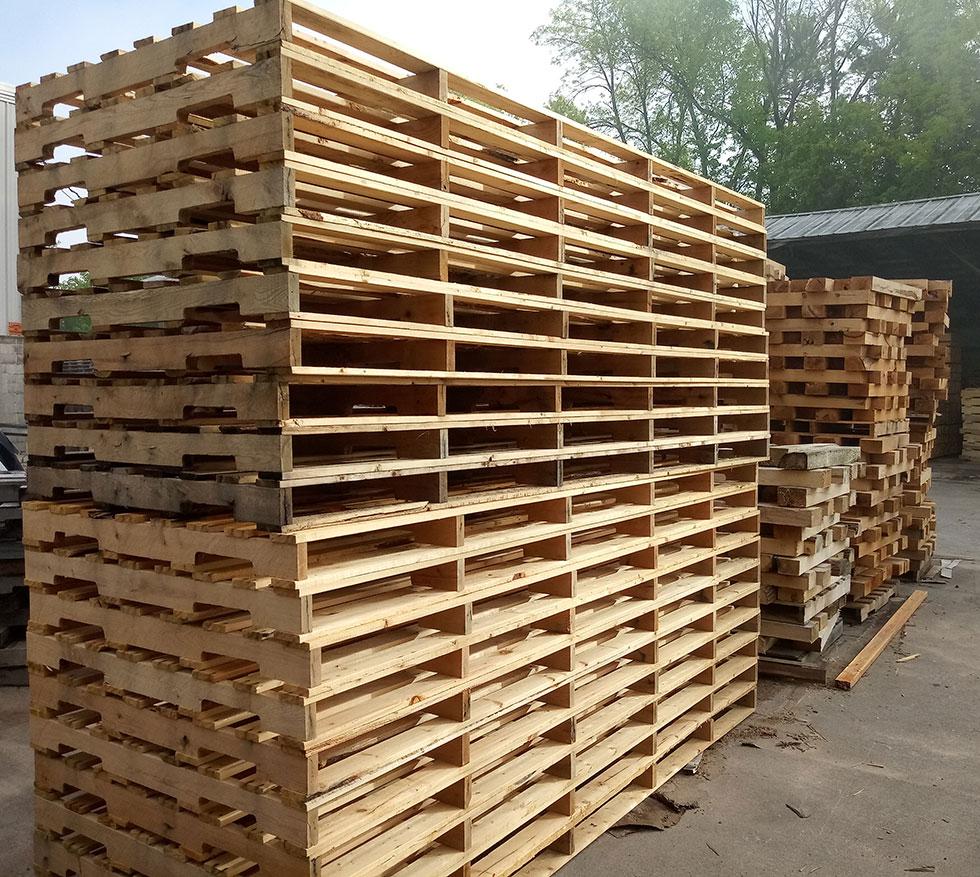 48 Inch x 102 Inch Pallets