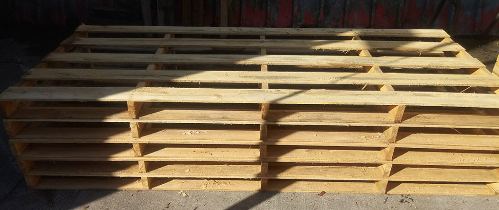 56 Inch x 102 Inch Softwood Pallet
