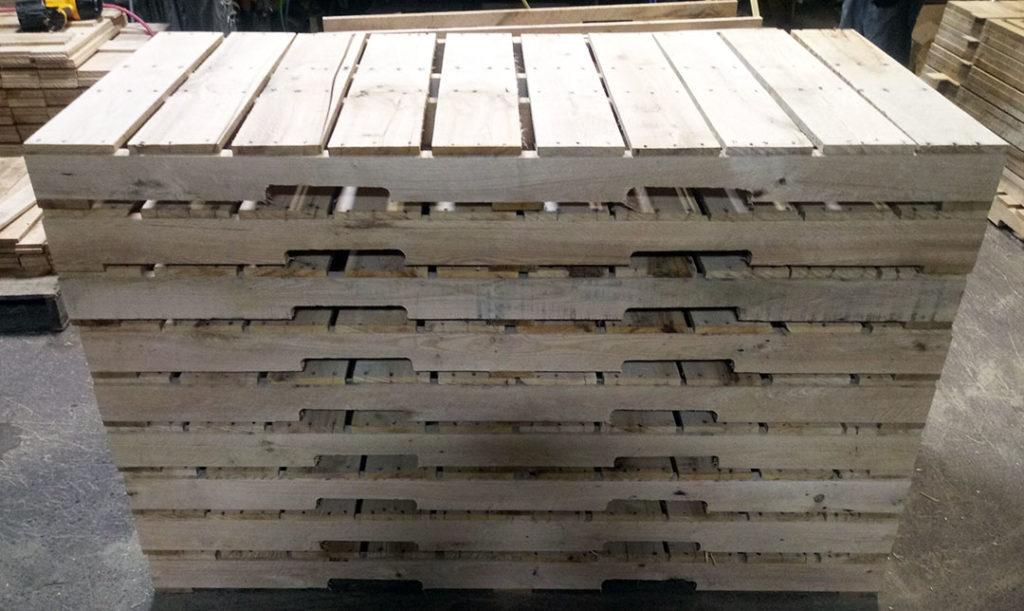 68 Inch x 32 Inch 4 Way Pallet