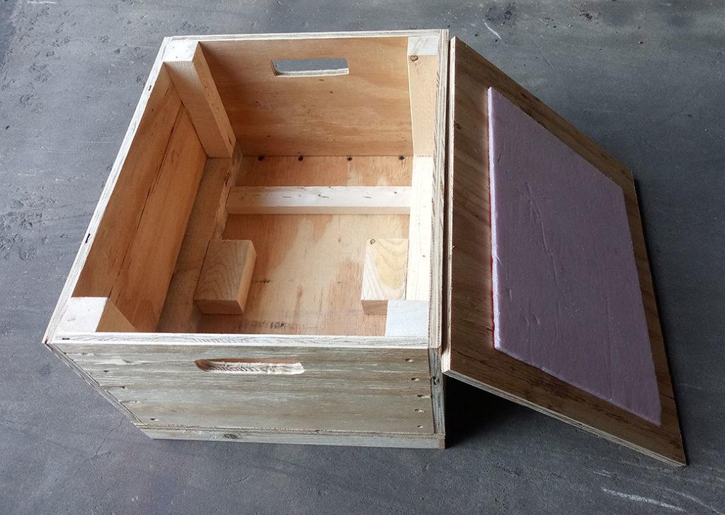 Wood Crate Sample